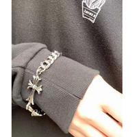 Cross chain bracelet