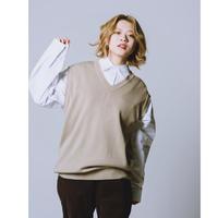 【受注期間2/14〜20】Knit vest set☆JayneK+