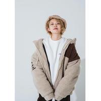 【受注期間11/23〜29】Creative boa jacket☆JayneK+