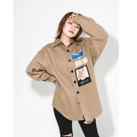 Studio shirt jacket☆Jayne K+