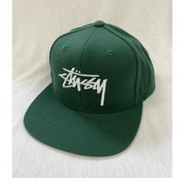 STUSSY Green Cap