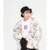 【受注期間9/26〜10/2】Print denim jacket