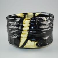 山田和 黒織部茶碗