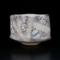 鈴木 富雄 鼡志野茶碗