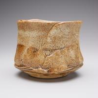 河本 五郎 灰釉茶碗