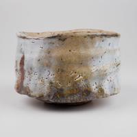 堀一郎 鼡志野茶碗