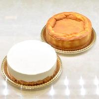 ベイクドチーズNYスタイル+エールレアフロマージュ