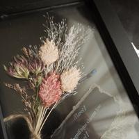 ドライフラワー《Dry bouquet frame》