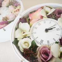 アーティフィシャルフラワー《Flower clock》