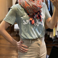 Paisley Cotton Scarf (Choral)