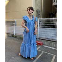 【LONGBEACH】stripe dress(Blue)