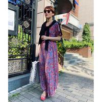 Vneck maxi summer dress(Paisley)
