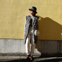 Short brim wool HAT (Gray)