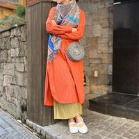 Bicolor Rattan Round Bag