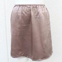 【アウトレット】シルク100%サテン ペチコート /Mサイズ