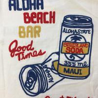 LONG TEE   SODA CAN  (BEACH BAR)  刺繡                 NEW ARRIVAL FAIR