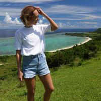 2310 OVER SIZE TEE< 海とサンゴを守るSustainble Yoga Wear>受注生産