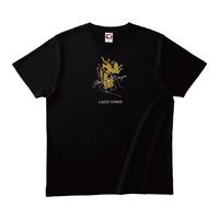 TOBIDASE LTシャツ BK