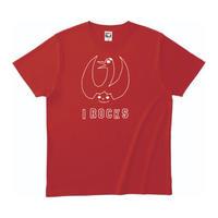 I ROCKSオフシャル AdultTシャツ RED