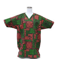 男性用    No.3257       M    医療用、介護用スクラブシャツ    No.3257