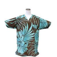 女性用 No.5578  M        ハワイアン3267    医療用、介護用スクラブシャツ