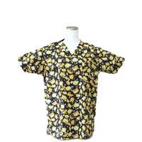 女性用 No.5539 スクールバス(黒)医療用、介護用スクラブシャツ
