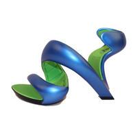 新品 ジュリアンヘイクス モヒート Blue/LimeGreen 37 (24cm~24.5cm) No.14072400
