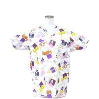 女性用 No.5512 犬・猫レントゲン    医療用、介護用スクラブシャツ