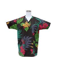 女性用 No.5579      M           ハワイアン3265    医療用、介護用スクラブシャツ