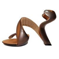 新品ジュリアンヘイクス モヒート Taupe/Bronze 35(23.0cm~23.5cm) No.14072400