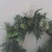 フレッシュグリーンリース wreathe design