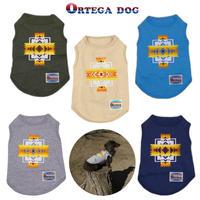 送料無料 ORTEGA (オルテガ) 犬服 Tシャツ ドッグウエア ORTG-005 アメカジ ネイティブ