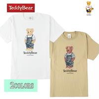 送料無料 SALE 50%OFF TEDDY BEAR (テディベア) Tシャツ メンズ レディース Tee 6.2oz ヘビーウエイト ロゴ TDBR-067 アメカジ キャラクター