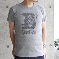 UCLA-0010 UCLA VINTAGEヘザーTシャツ