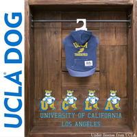 送料無料 UCLA(ユーシーエルエー) 犬服 ドッグウエア パーカー 裏毛プルオーバー アメカジ ロゴ カレッジ UCLA-UCCHOC012