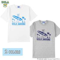 送料無料 UCLA (ユーシーエルエー) Tシャツ メンズ レディース UCLA-0489 6.2oz ヘビーウエイト カレッジ ロゴ オープンエンドTシャツ アメカジ