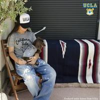"""送料無料 UCLA(ユーシーエルエー)Tシャツ メンズ レディース トライブレンドTシャツ """"CALIFORNIA BRUINS BEAR"""" MENS&DOG"""