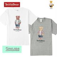 送料無料 SALE 50%OFF TEDDY BEAR (テディベア) Tシャツ メンズ レディース Tee 6.2oz ヘビーウエイト ロゴ TDBR-068 アメカジ キャラクター
