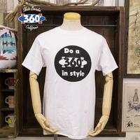 THSX-013 360°SPORTS WEAR スポンジプリントTシャツ