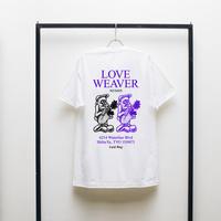 """LAID BUG S/S TEE """"LOVE WEAVER"""""""