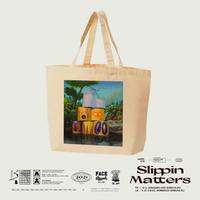 Makito Takagi TOTE BAG - SLIPPIN MATTERS-