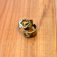 Lair Lips Ring brass