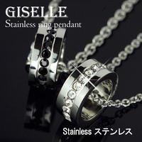 ネックレス◆ステンレスジュエリー♪「C-LINE」◆QSP-5188
