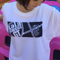 Tシャツ La La Sweet Driving with you!  白
