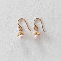 1910P66 SV(K18Gp) Earrings (Akoya pearl)