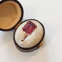 K10 Ring (Pink tourmaline)