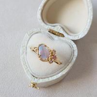 21R53 Silver(K18Gp) Ring (Opal)