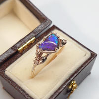 21R71 K10 Ring (Boulder Opal)