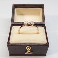 21R68Oder K10 Ring (Aokoya Pearl)