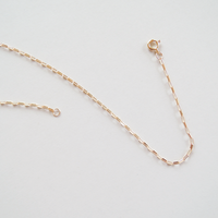 OR_K18  no.1 necklace  size up